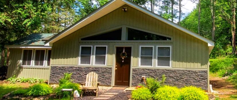 Use Stone Siding as an Accent